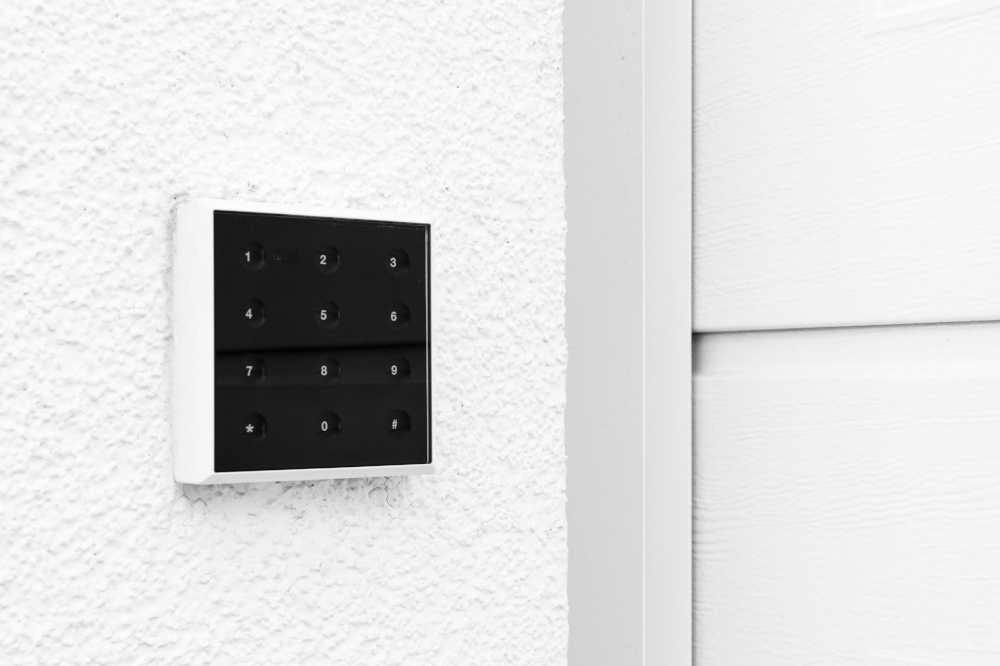 garage door keypad
