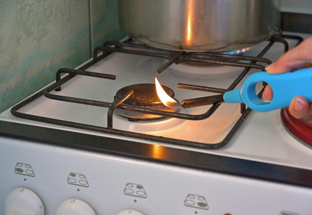 gas burner not lighting