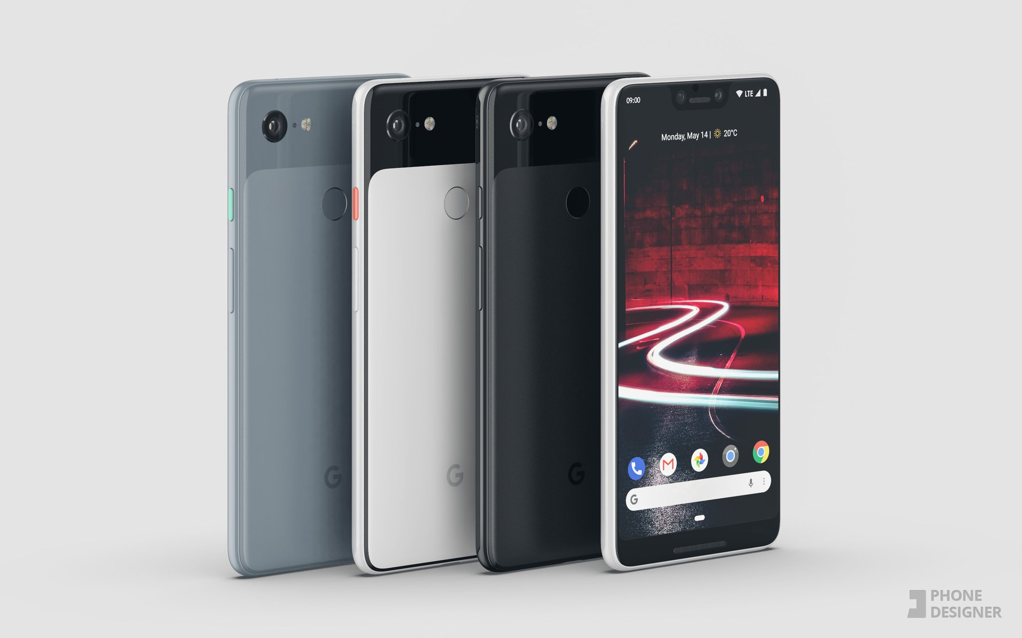 Google Pixel 3 Variations