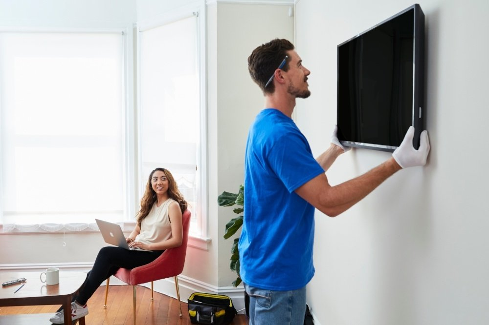 tv mounting price how much should it cost to mount my tv. Black Bedroom Furniture Sets. Home Design Ideas