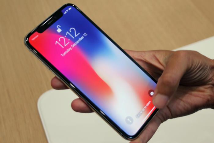 iPhone X touchscreen not working